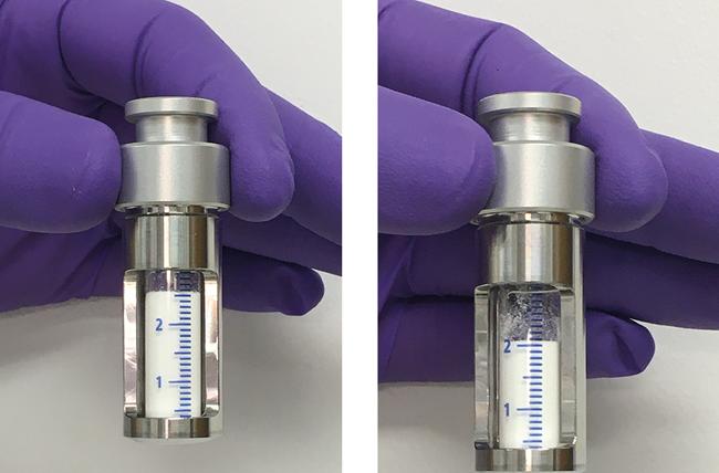 Verbesserte Messung der Pulverbenetzung mit der Washburn-Direct-Methode / Eine Reproduzierbarkeitsuntersuchung basierend auf Messungen der Wasserbenetzbarkeit von mikrokristallinem Cellulosepulver, Beitrag aus Pharm. Ind: 83, Nr. 9, 1234-1240 (2021)