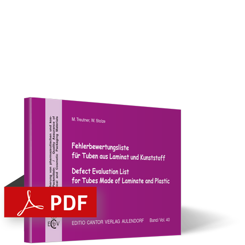 Fehlerbewertungsliste für Tuben aus Laminat und Kunststoff | PDF