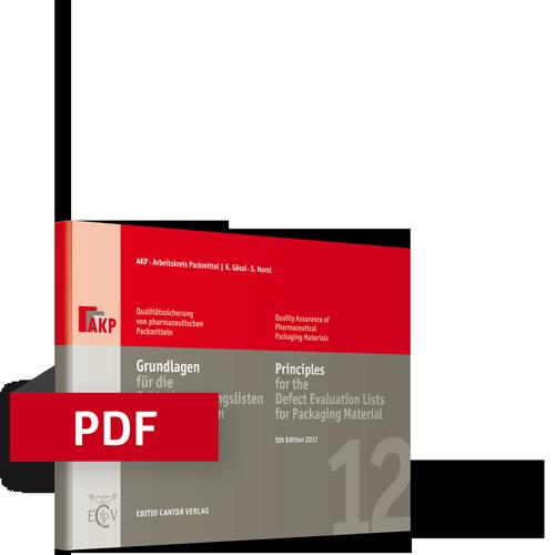 Grundlagen für die Fehlerbewertungslisten von Packmitteln | Bundle (Buch, PDF)