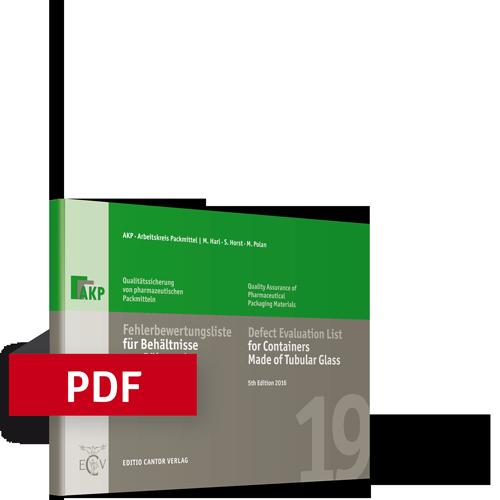 Fehlerbewertungsliste für Behältnisse aus Röhrenglas | Bundle (Buch, PDF)