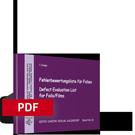 Fehlerbewertungsliste für Folien | PDF