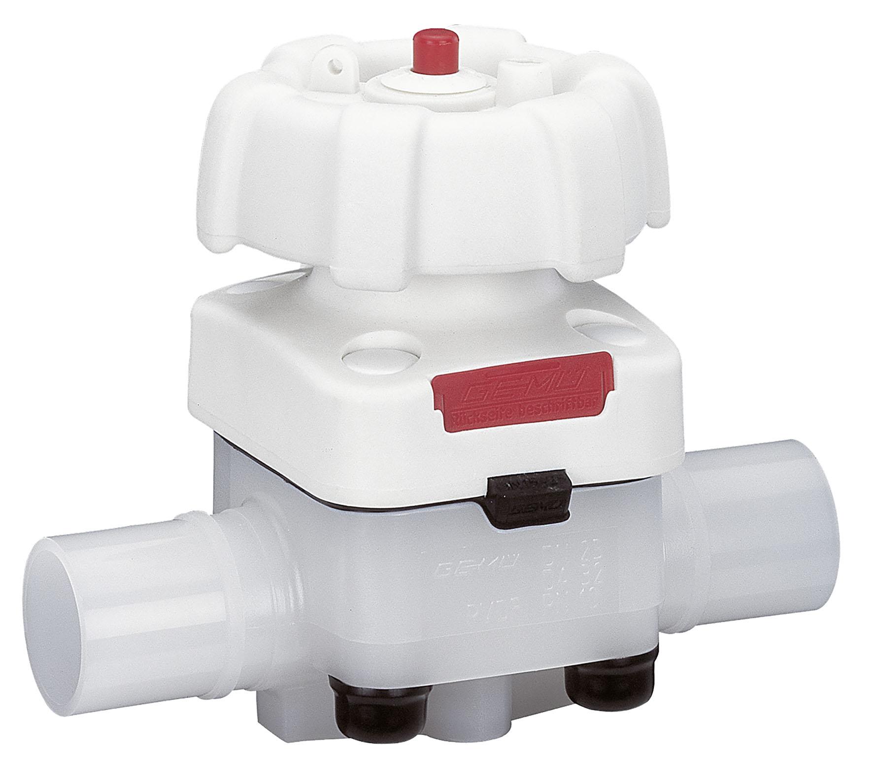 Hochreines Membranventil GEMÜ 677HP PurePlus / Auch bei hoher Temperatur und Druckbeanspruchung