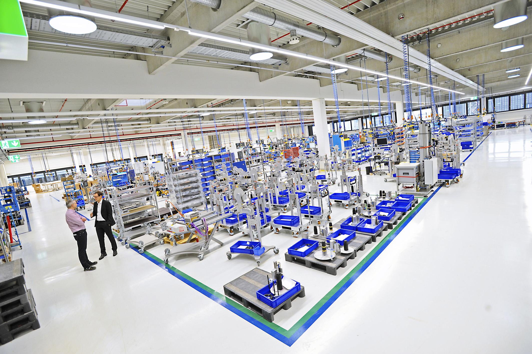 Neues Werk für Etikettiermaschinen in Betrieb genommen: Weiter wachsen in Filderstadt