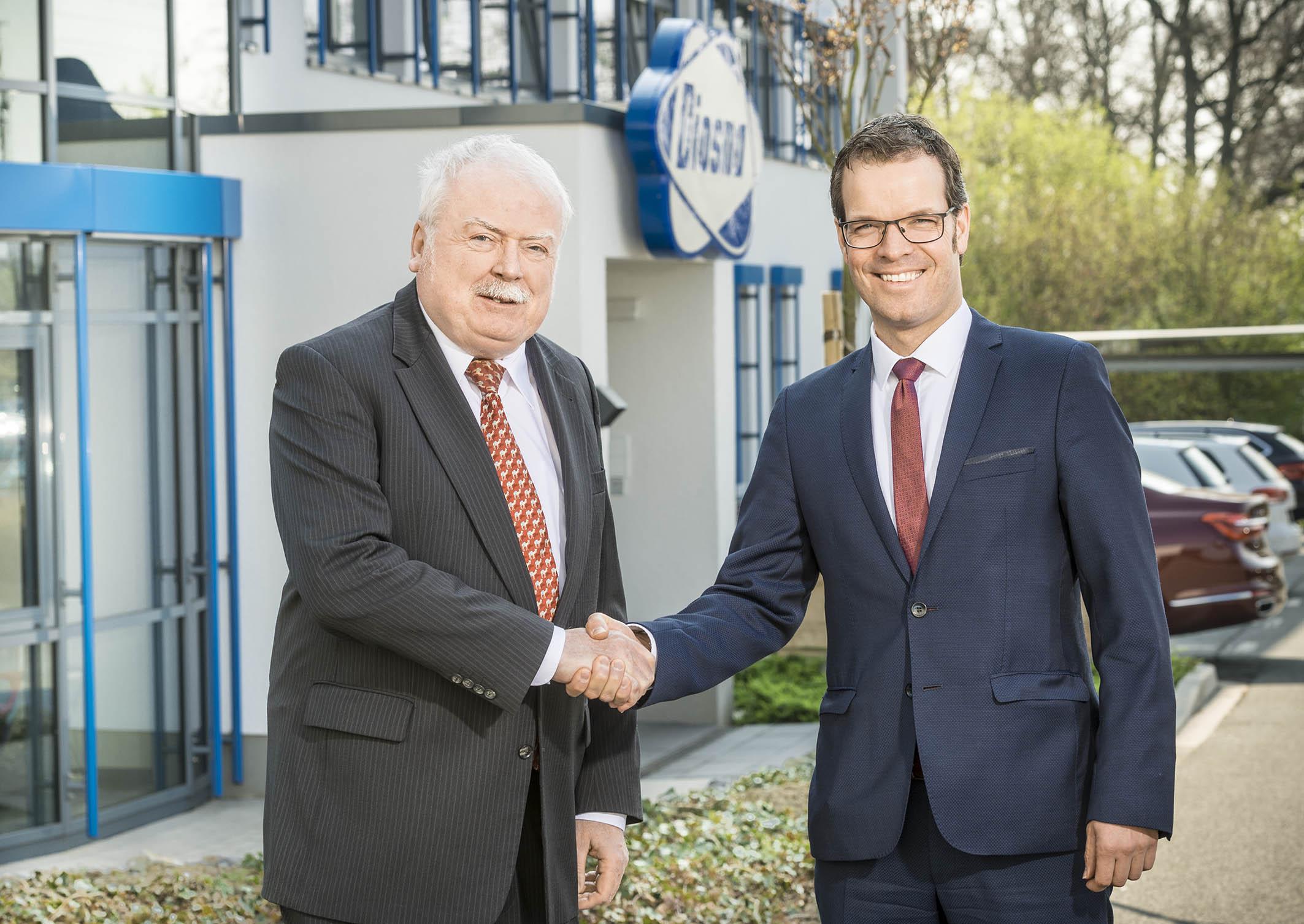 Geschäftsführerwechsel bei der DIOSNA Dierks & Söhne GmbH