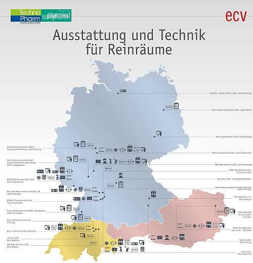 Poster - Ausstattung und Technik für Reinräume - kostenlos downloaden