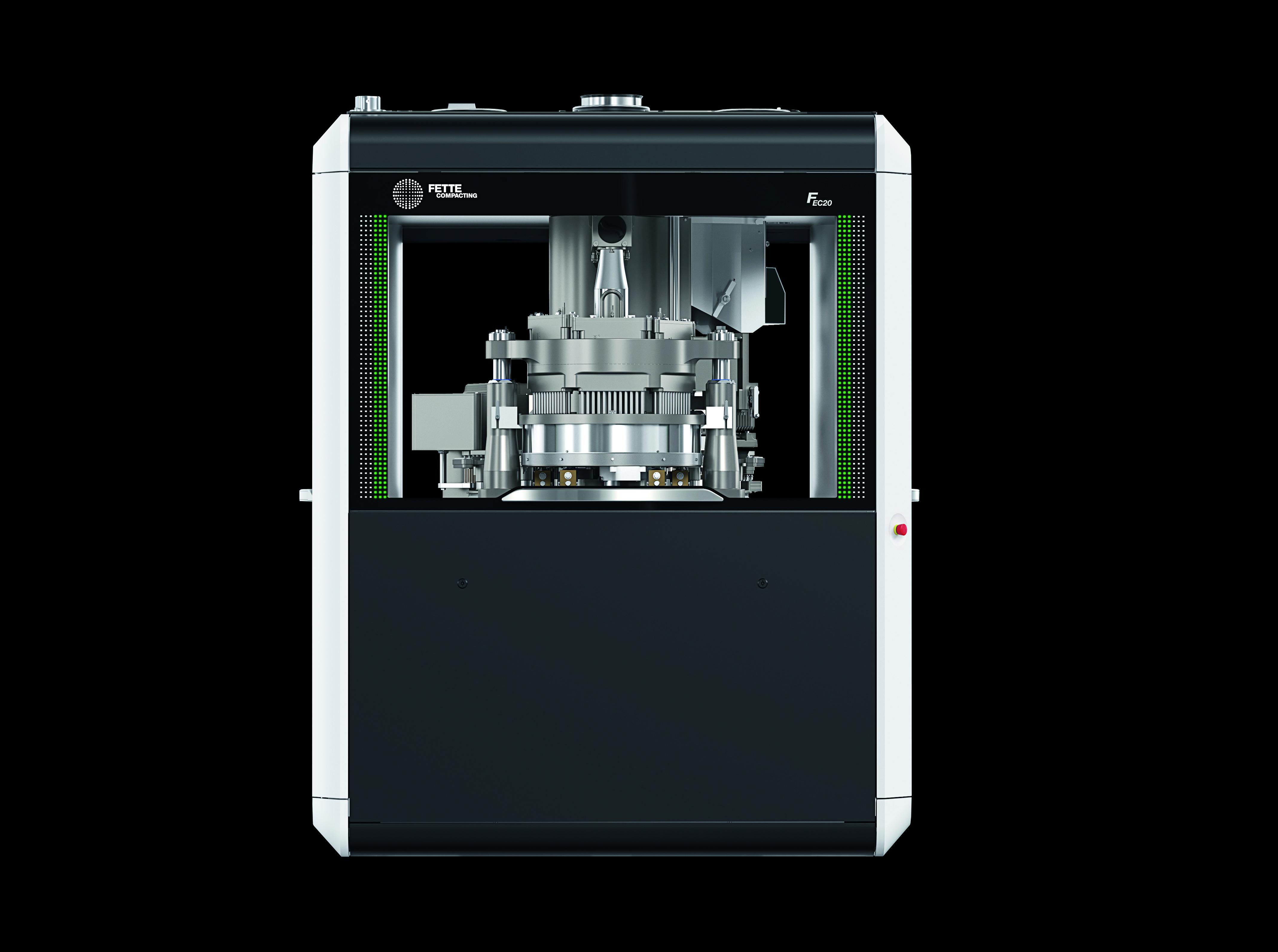 Weltpremiere – Fette Compacting stellt neue Kapselfüllmaschine FEC20 vor