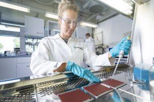 Analysesystem ermöglicht gezielte Untersuchung von antiviralen Oberflächen für Materialentwickler