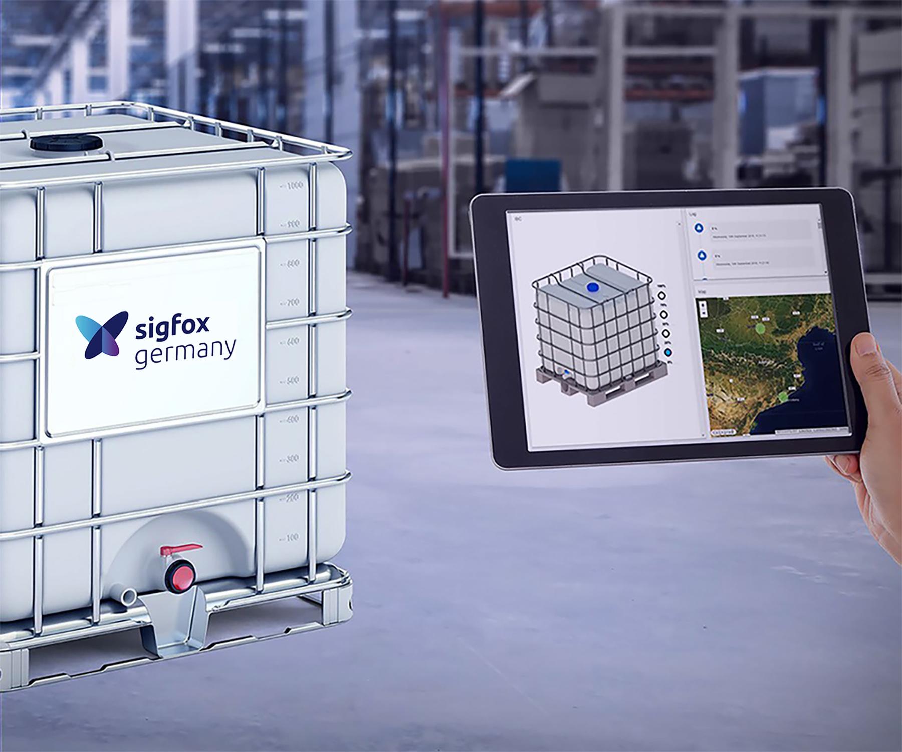 Sigfox stellt Überwachungssystem für IBC-Container vor