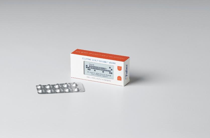 Zählhelfer für die Tabletteneinnahme