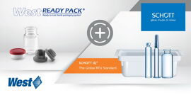 West and SCHOTT Announce Partnership to combine the SCHOTT iQ® Platform with West's Ready Pack™ System