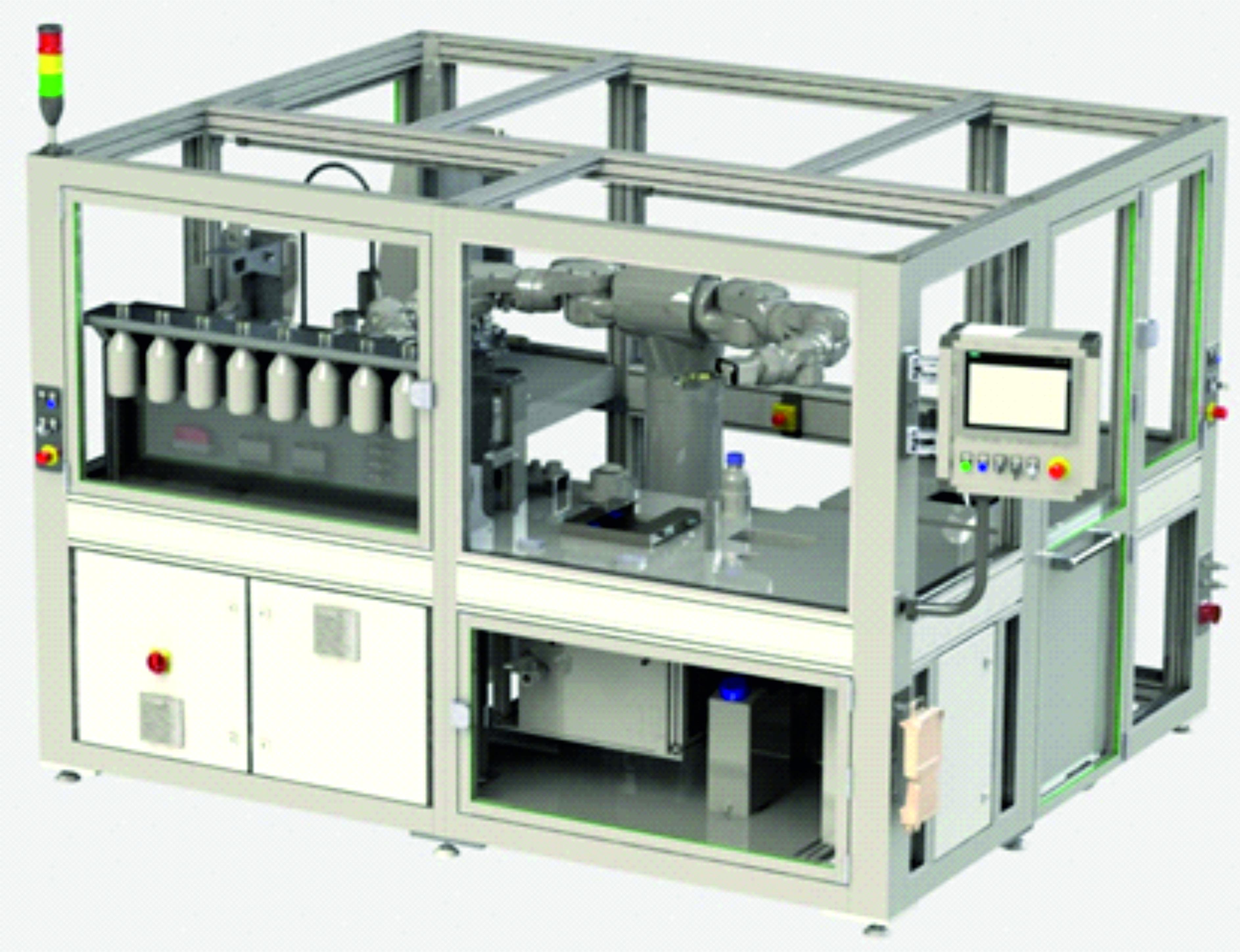 Automatisierte Produktion von Nanopartikeln mithilfe flexibler interaktiver Robotertechnik