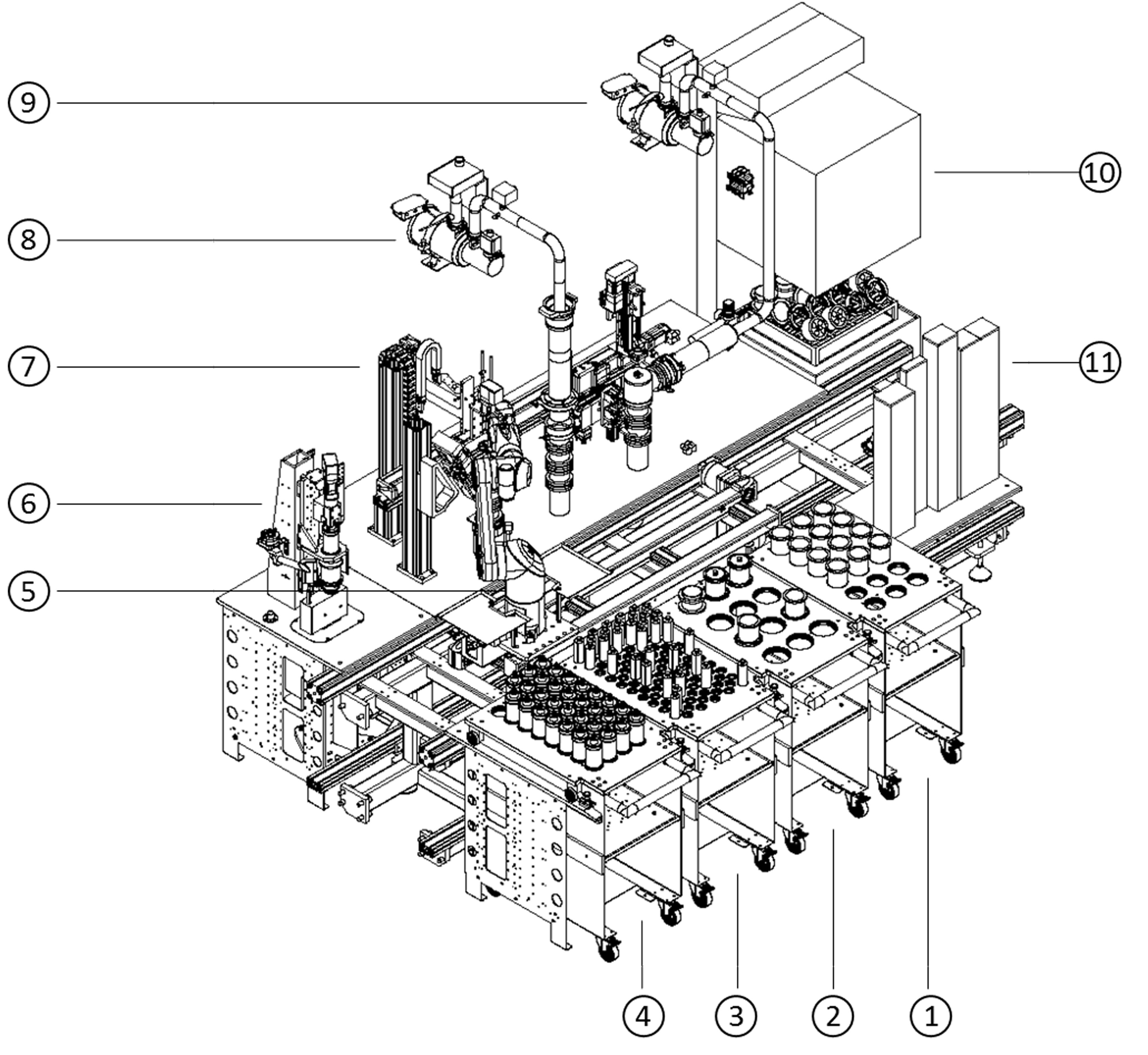 Innovative Granulatherstellung für die Forschung und Entwicklung / Konzeption einer Anlage zur automatisierten Hochdurchsatzgranulation