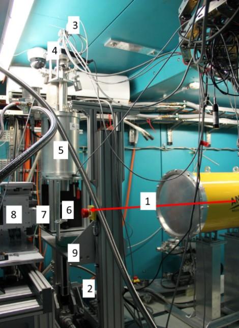 Beschreibung der Sublimationsfront in Schüttgütern mittels Neutronen Radiographie und Tomographie